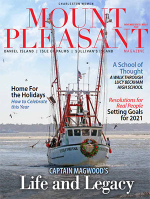 Mount Pleasant Magazine's most recent magazine cover