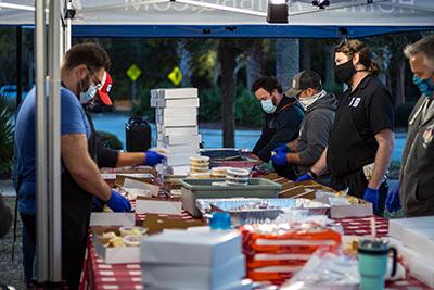 HomeTeam BBQ feeds frontline workers