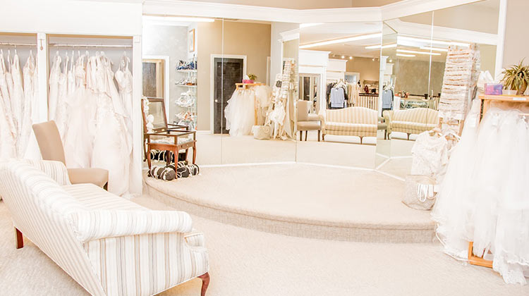 An interior photo of Jean's Bridal in Mount Pleasant, South Carolina