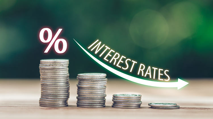 dropping interest rates