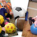 Active kids become active adolescents.