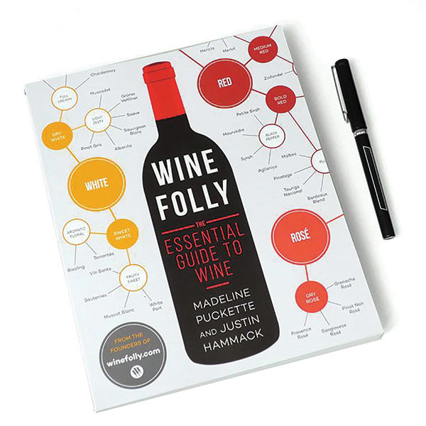 Book Cover: Wine Folly by Madeline Puckette and Justin Hammack