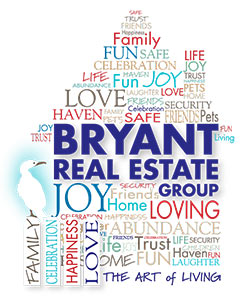 Bryant Real Estate Group logo. Bryant Real Estate Group, Mount Pleasant, SC.