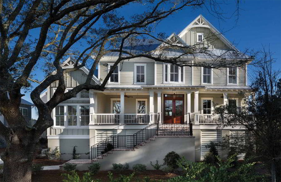 The PORT ROYALE 1277 home in Heirloom Landing, Mt. Pleasant, SC