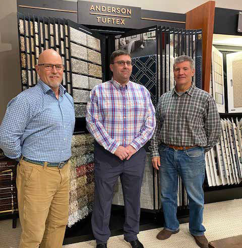 Pictured left to right: Founder/President Dean Kelly, GM/Partner Sean Forbes and Vice President/Partner Steve Leasure.
