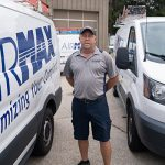 Service Technician Steve Runyan of AirMax SC