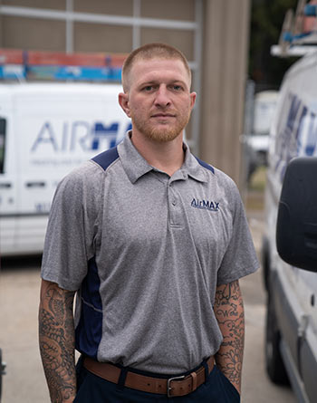 Bobby Breault of Airmax. Cooling • Heating • Comfort • Indoor Air